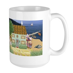 Lakeside Cottage Large Mug