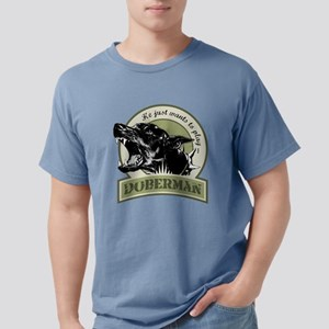 Doberman army green T-Shirt