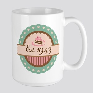 1943 Birth Year Birthday Mugs