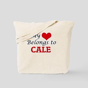 My heart belongs to Cale Tote Bag