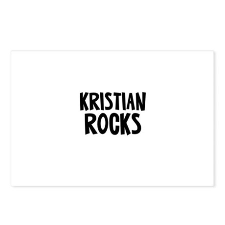 Kristian Rocks Postcards (Package of 8)
