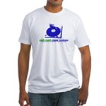 mish mash Fitted T-Shirt