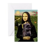 Mona / Cairn T (brin) Greeting Cards (Pk of 10)