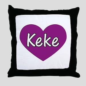 Keke Throw Pillow