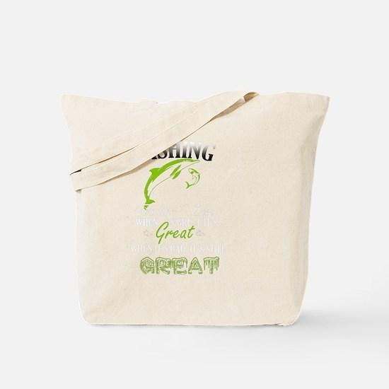 Cute Fishing prayer Tote Bag