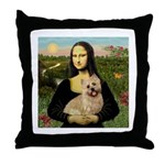 Mona /Cairn T Throw Pillow