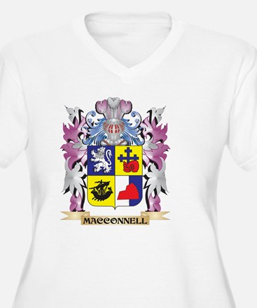 Macconnell Coat of Arms - Family Plus Size T-Shirt