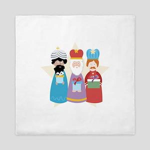 Three Wise Men Queen Duvet