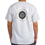 Come In And Burn Ash Grey T-Shirt