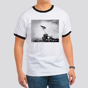 Iwo Jima, raising the flag T-Shirt