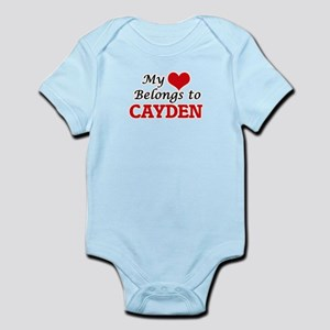 My heart belongs to Cayden Body Suit