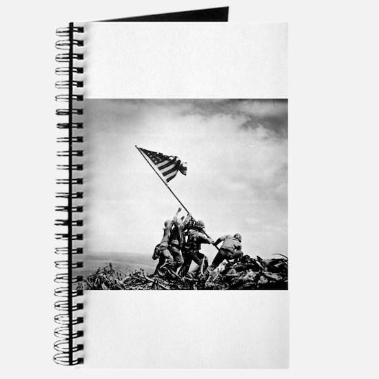 Iwo Jima, raising the flag Journal