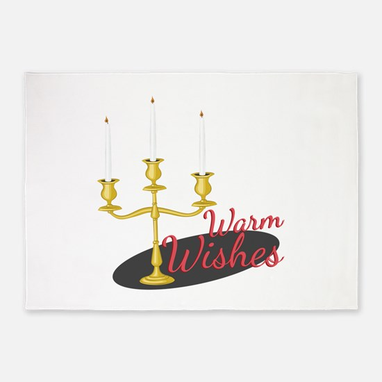 Warm Wishes 5'x7'Area Rug