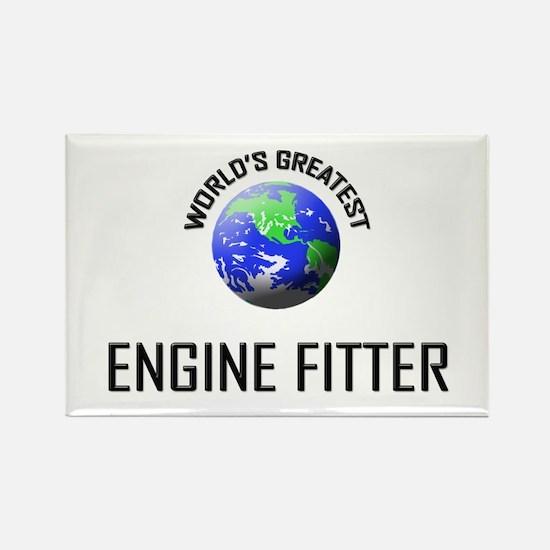 World's Greatest ENGINE FITTER Rectangle Magnet