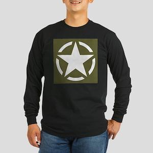 WW2 American star Long Sleeve T-Shirt