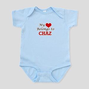 My heart belongs to Chaz Body Suit