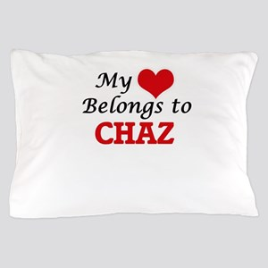 My heart belongs to Chaz Pillow Case