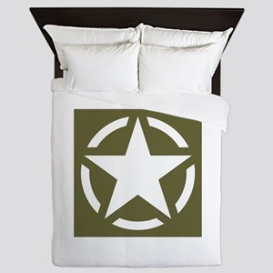 WW2 American star Queen Duvet