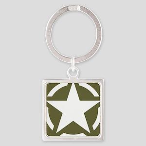 WW2 American star Keychains