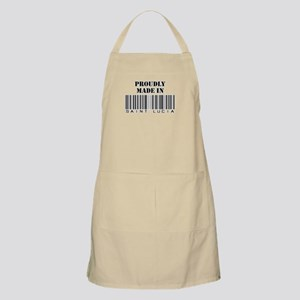 Proudly made in Saint Lucia BBQ Apron