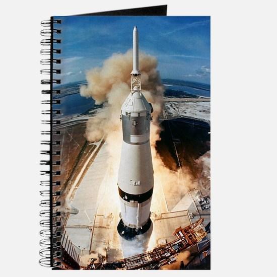 Cute Rocket Journal