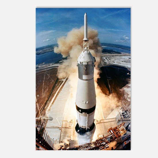 Cool Lunar module Postcards (Package of 8)