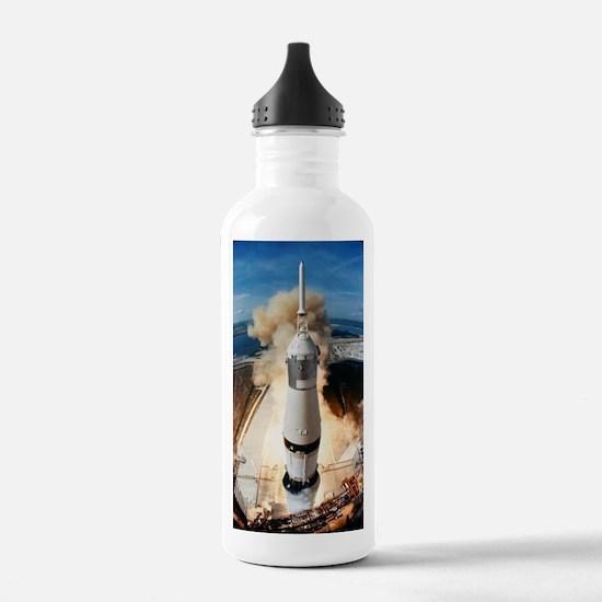 Funny Rocket science Water Bottle