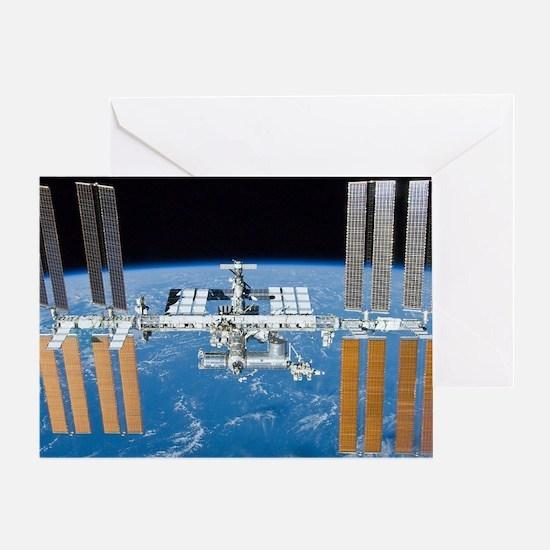 Cute Satellite Greeting Card