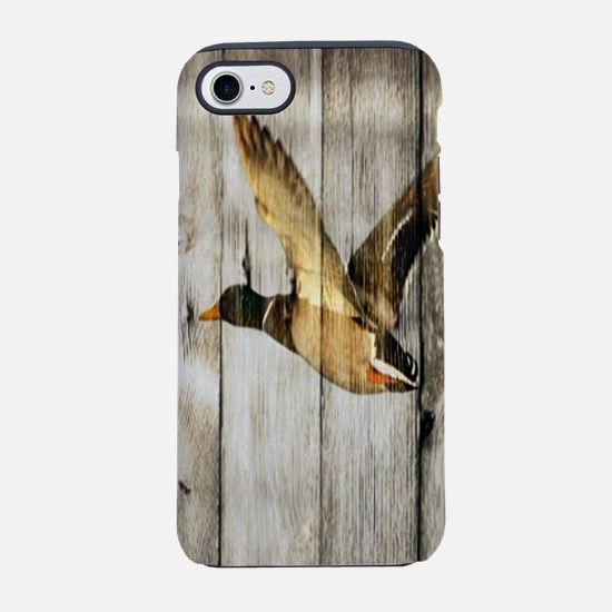 western barnwood wild duck iPhone 8/7 Tough Case