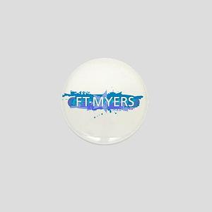 Fort Myers Design Mini Button