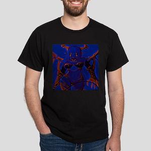 Demonic Anime Girl Blue T-Shirt