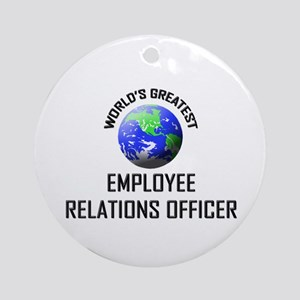 World's Greatest EMPLOYEE RELATIONS OFFICER Orname