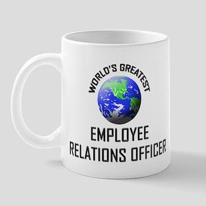 World's Greatest EMPLOYEE RELATIONS OFFICER Mug