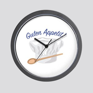 Guten Appetit Wall Clock