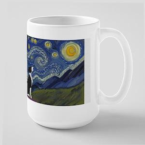 Starry ES Black & White Mugs