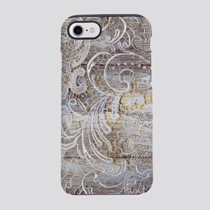 country barn wood lace iPhone 8/7 Tough Case