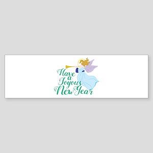 Joyous New Year Bumper Sticker