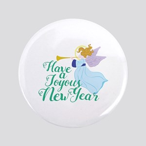 Joyous New Year Button