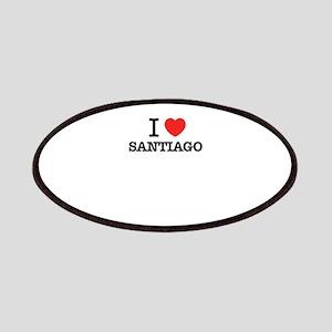 I Love SANTIAGO Patch