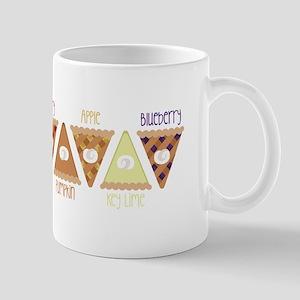 Seasonal Pie Slices Mugs