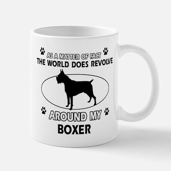 Boxer Dog Awesome Designs Mug