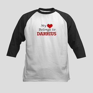 My heart belongs to Darrius Baseball Jersey