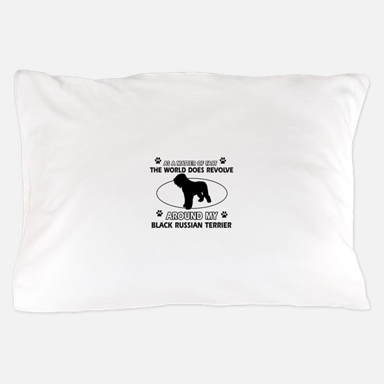 Black Russian Terrier Dog Awesome Desi Pillow Case
