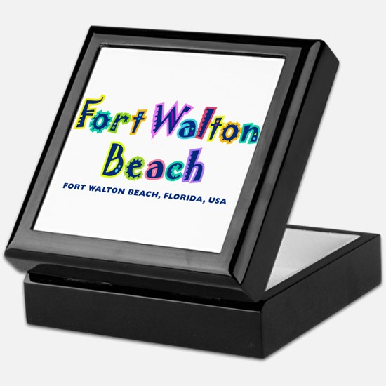 Fort Walton Beach -  Keepsake Box