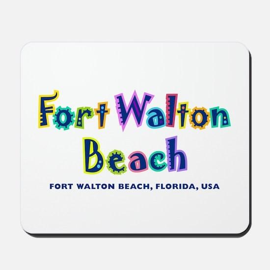 Fort Walton Beach -  Mousepad