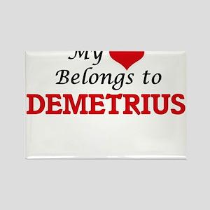My heart belongs to Demetrius Magnets