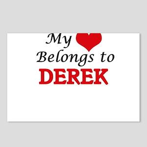 My heart belongs to Derek Postcards (Package of 8)