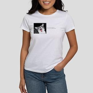 Wild Cat-And-Quote Women's T-Shirt