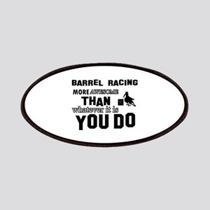 Barrel Racing More Awesome Than Whatever You Patch
