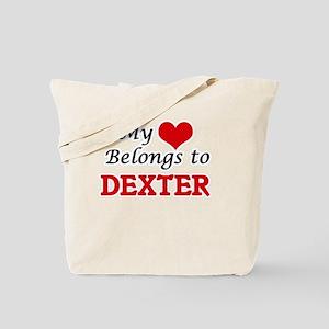 My heart belongs to Dexter Tote Bag